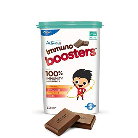Activkids Cipla Immuno Boosters for 23 Years  360g 30 Count