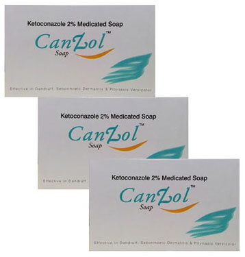 CanZol Soap Pack Of 3 75 gm