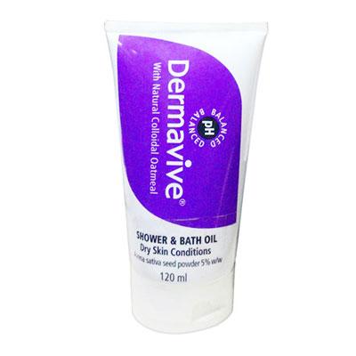 Dermavive Shower and Bath Oil 120ml