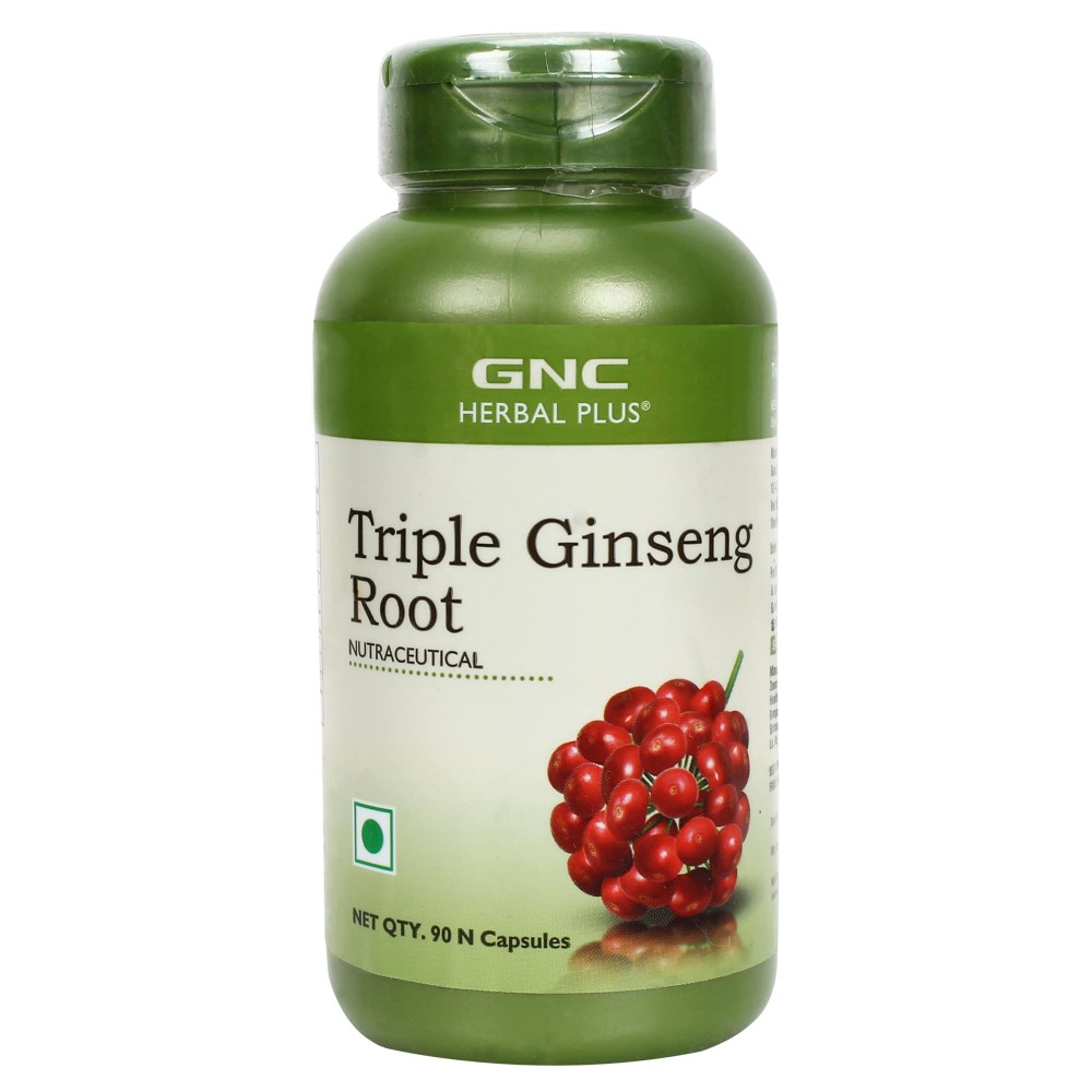 GNC TRIPLE GINSENG ROOT