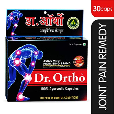 Dr Ortho 100 Ayurvedic Capsules pack of 2