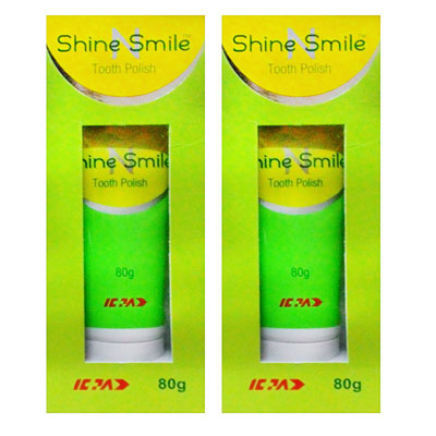 Shine Smile Tooth Polish 80 gm Pack Of 2