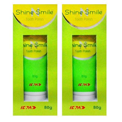 Shine Smile Tooth Polish 80 gm Pack Of 2