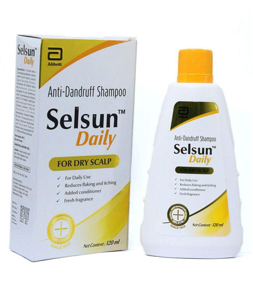 Selsun Daily AntiDandruff For Dry Scalp Shampoo 120 ml
