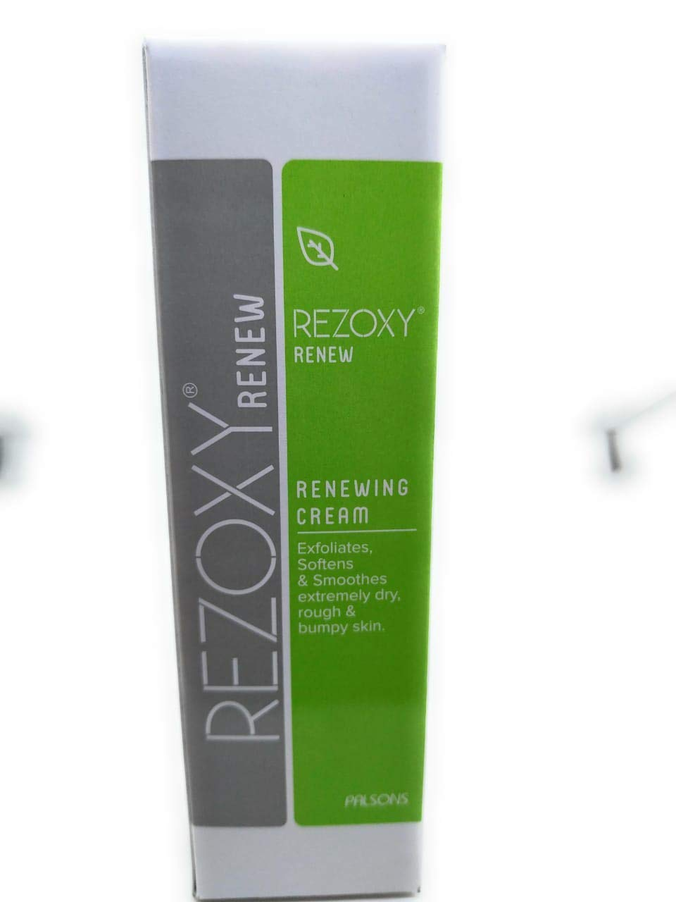 REZOXY RENEW RENEWING CREAM 50GM EXFOLIATES ,SOFTENS & SMOOTHNESS EXTREMELY DRY,ROUGH & BUMPY SKIN.