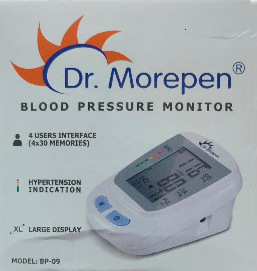 DR Morepen BP-09 Blood Pressure Monitor