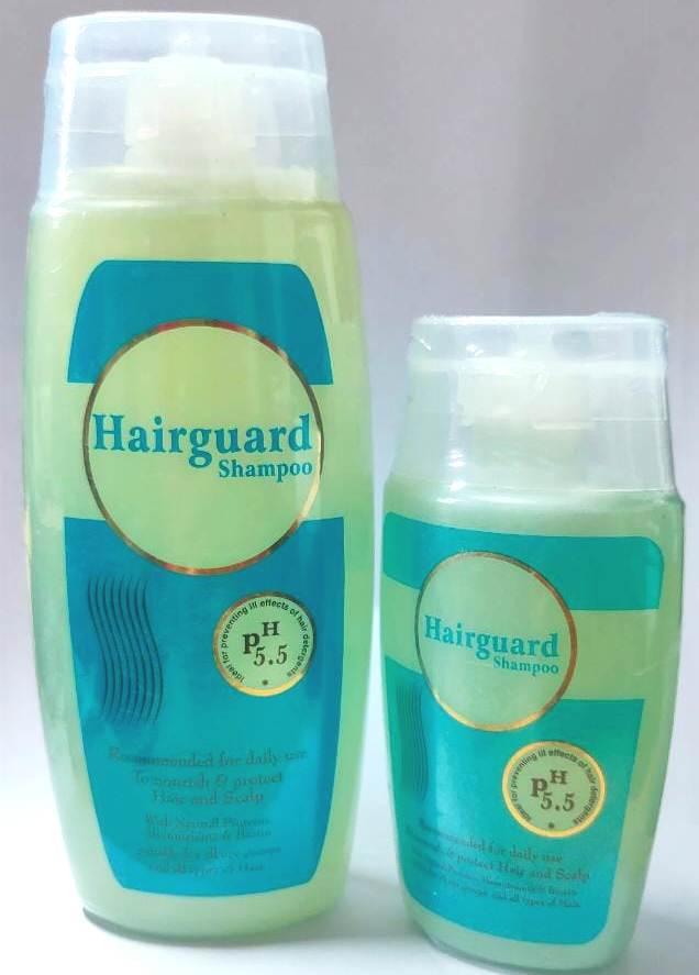 Hairguard PH 55 Shampoo 250 and 125ml Combo
