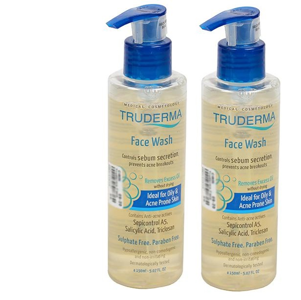 Truderma Face Wash 150ml Pack Of 2