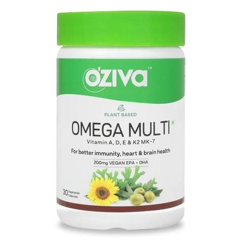 OZiva Plant Based Omega Multi 30 Capsules