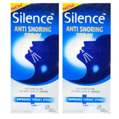 Silence Anti Snoring Spray 20ml pack of 2