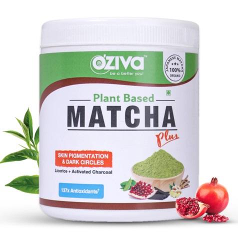 OZiva Plant Based Matcha Plus 50g