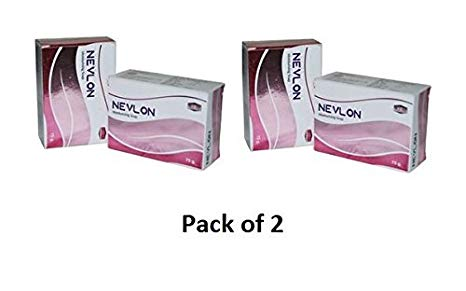 NEVLON GLO  75g pack of 2