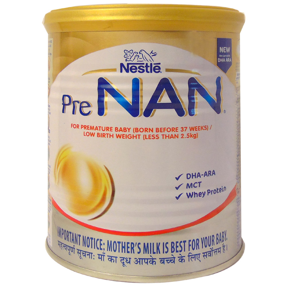 Nestle Pre Nan Born Before 37 Weeks 400G