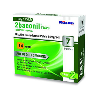 2baconil Nicotine Transdermal Patch 14mg