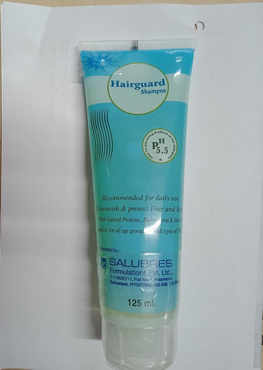 Hairguard PH 55 Shampoo 125ml Pack of 2